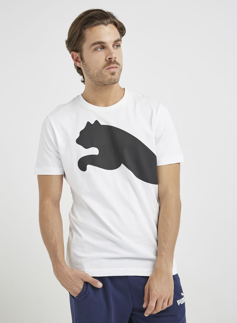 7fccf08c6af Shop Puma Oversize Logo T-Shirt White online in Dubai, Abu Dhabi and ...