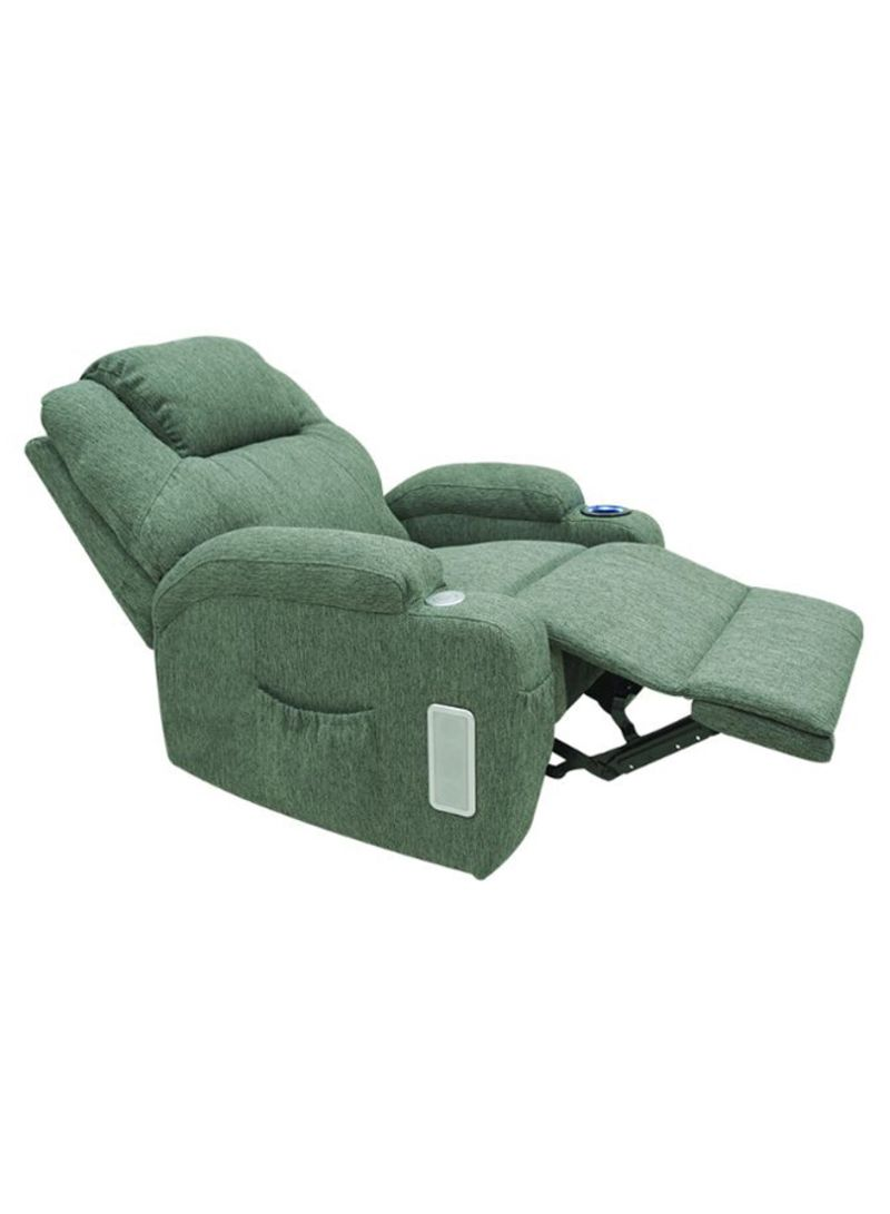 Picture of: Shop Electric Recliner With Cup Holder And Side Speakers Green Online In Egypt