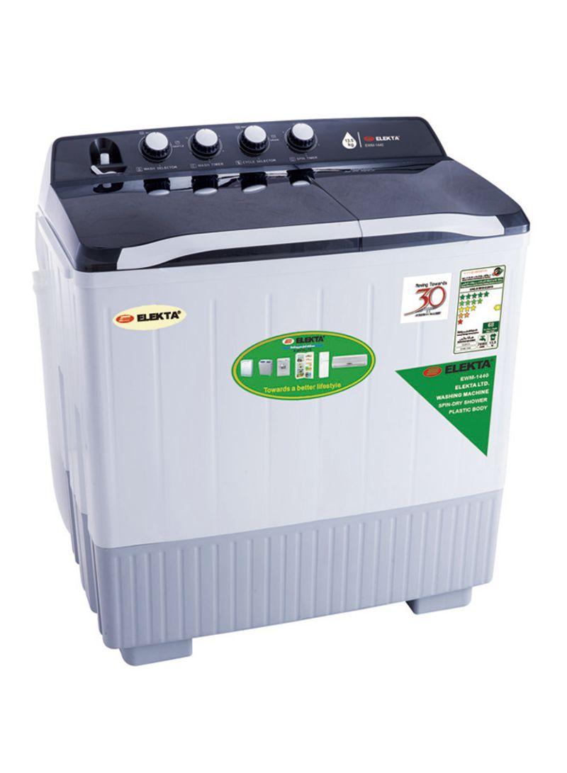 Shop ELEKTA Twin Tub Washing Machine EWM 1440 White online