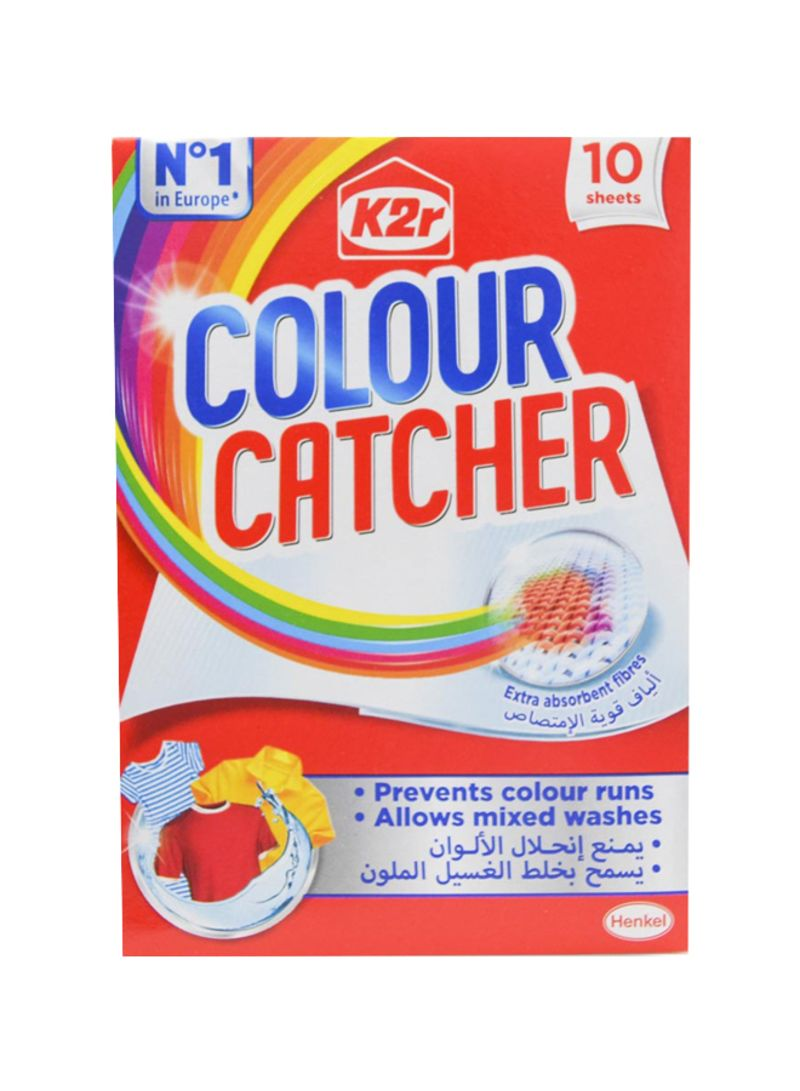 10-Sheet K2R Colour Catcher Silver