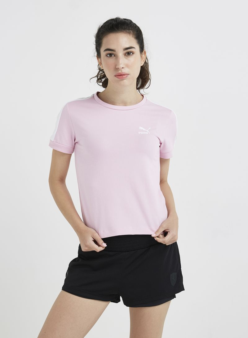 Pink In Tight Puma Dhabi T7 And Pale Shop DubaiAbu Classics Uae All Online T Shirt QrsoBxthdC