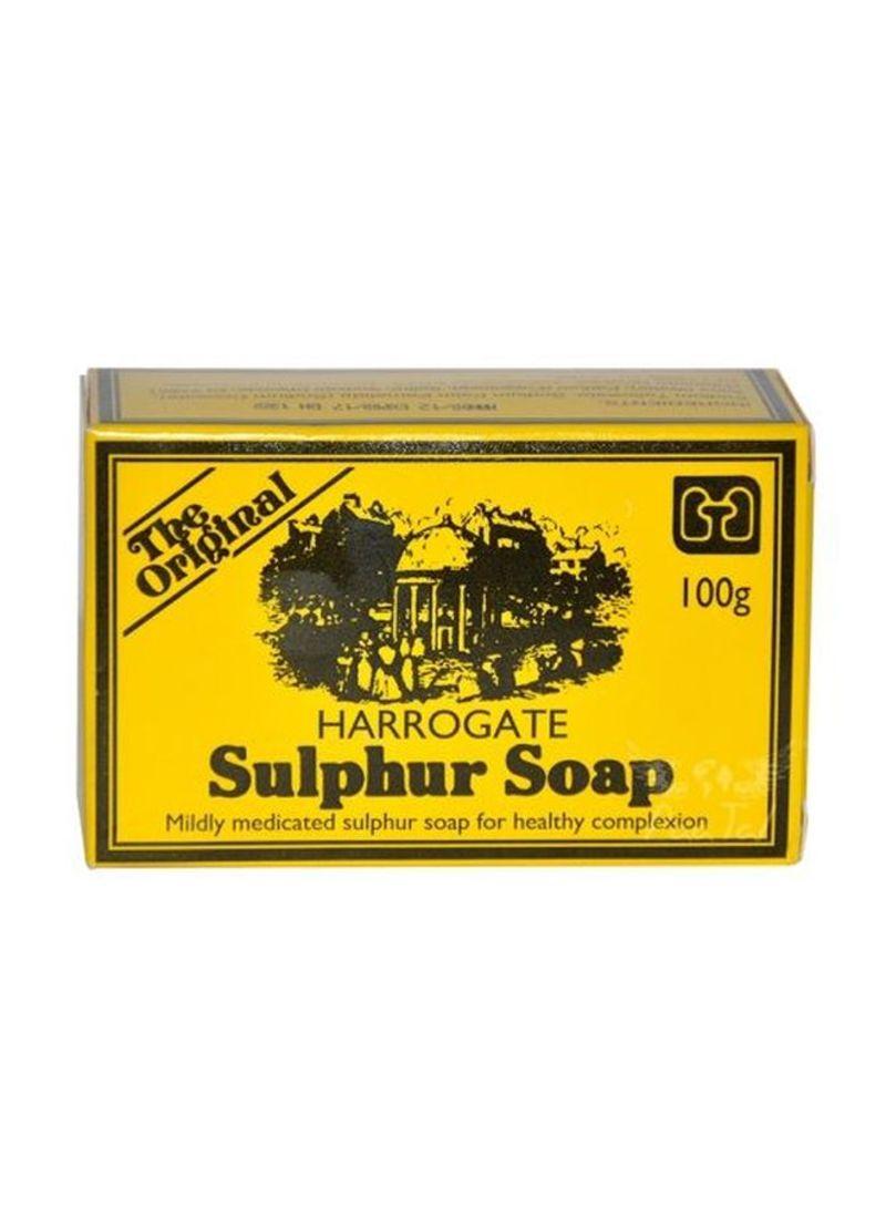 Shop Harrogate Sulphur Soap Bar 100 g online in Dubai, Abu