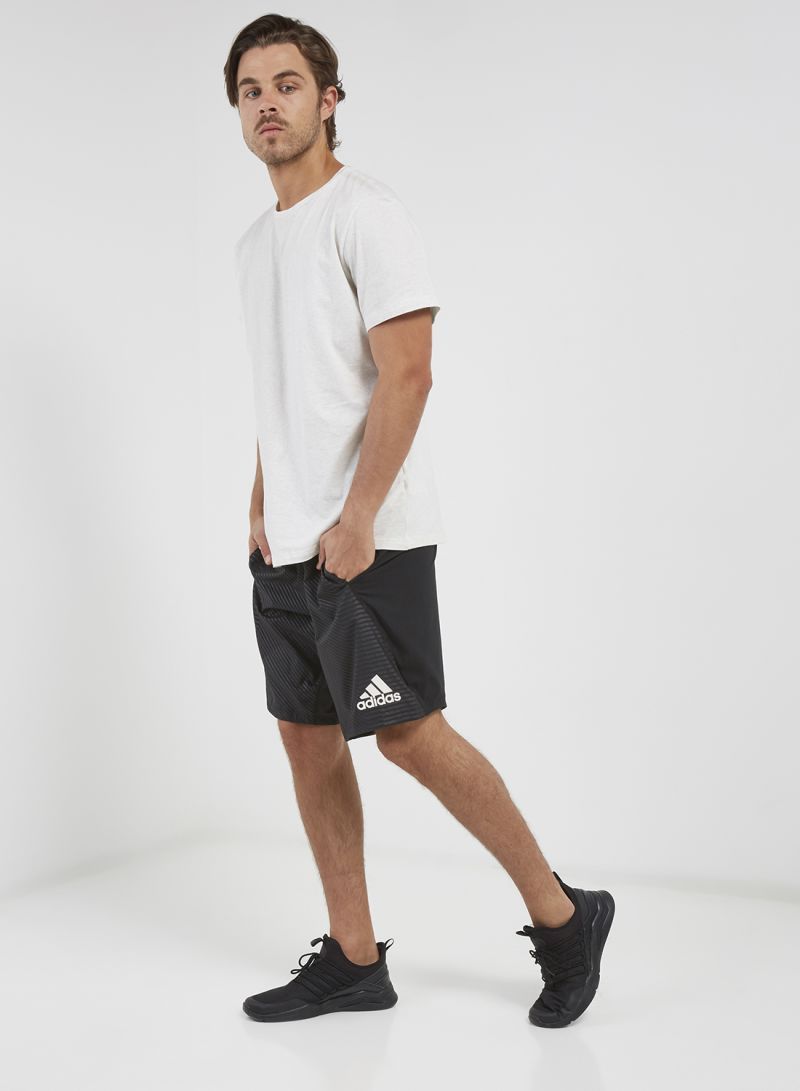 Shop adidas 4KRFT Woven 10 Inch Embossed Shorts Black online in Dubai, Abu Dhabi and all UAE
