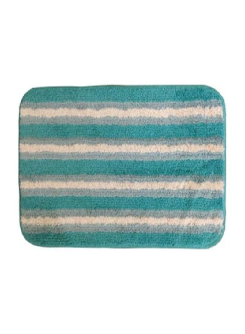 Microfiber Bathroom Mat Navy Blue Beige 40 X 60 Centimeter Price In Uae Noon Uae Kanbkam
