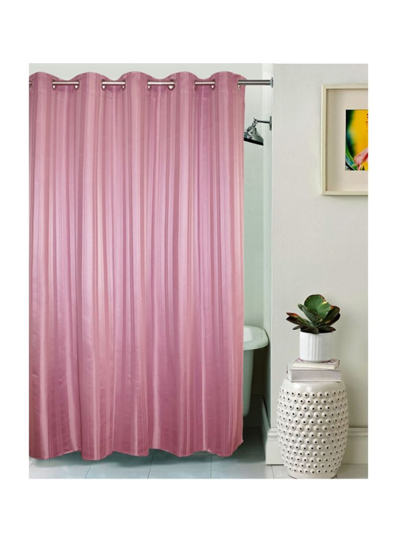 سعر Polyester Striped Shower Curtain ذهبي 200 X 182 88