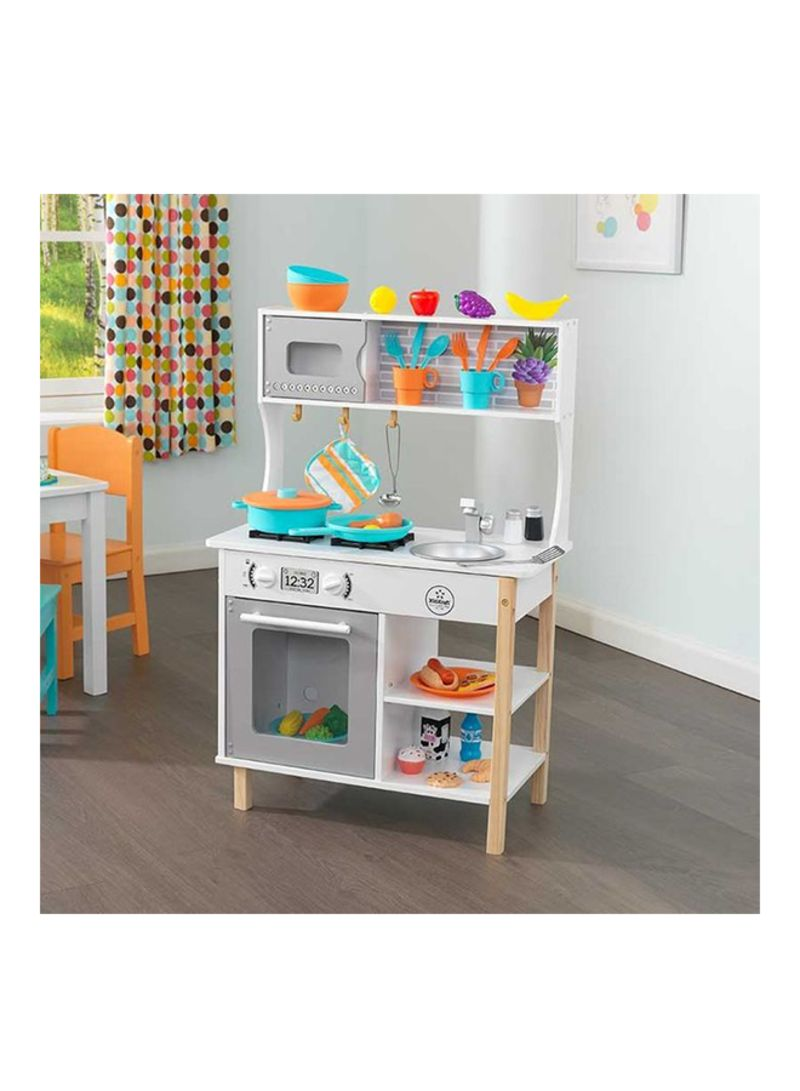 Shop Kidkraft All Time Wooden Play Kitchen Online In Dubai Abu