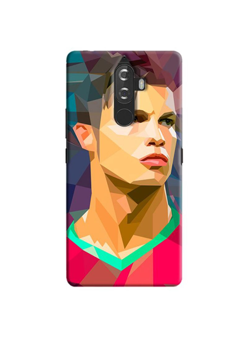 Shop Cover It Up Protective Case Cover For Lenovo K8 Plus Ronaldo Pixel Online In Dubai Abu Dhabi And All Uae