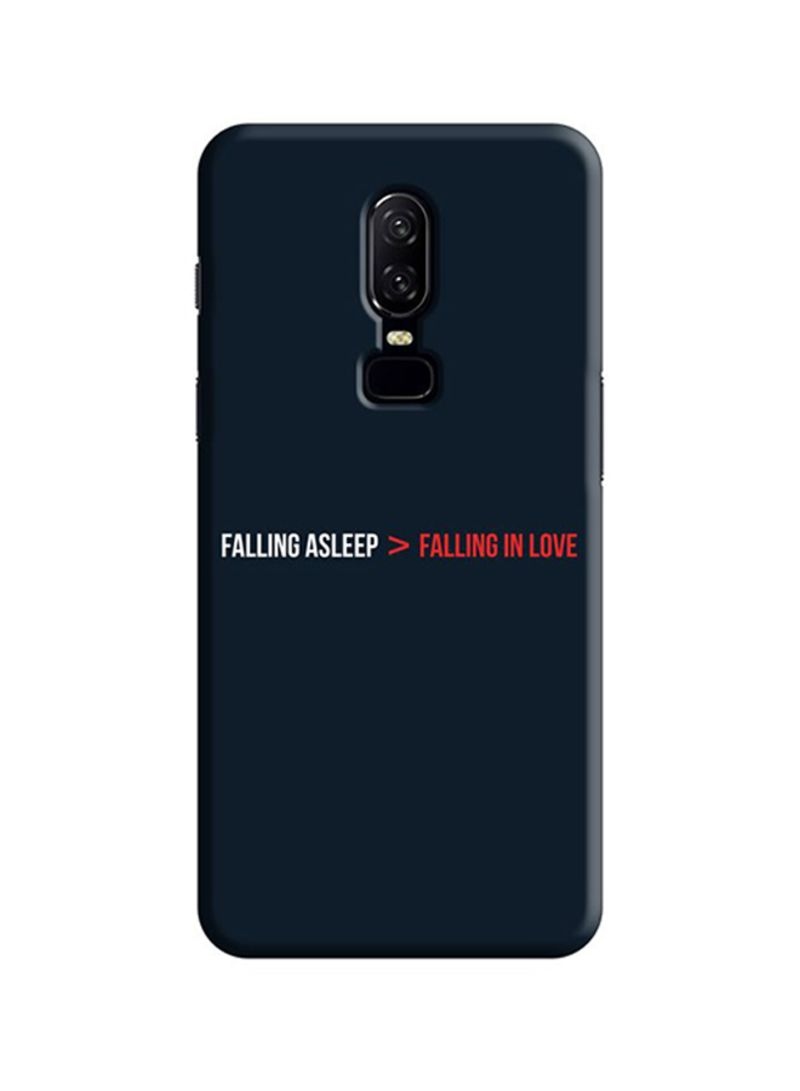 Shop Cover It Up Protective Case Cover For OnePlus 6 Sleeplove online in  Dubai, Abu Dhabi and all UAE