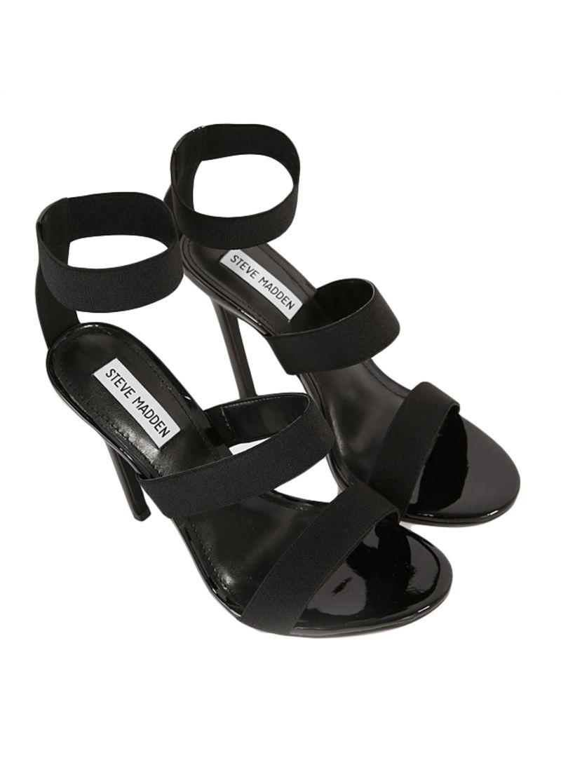 dcace4e971f Shop Steve Madden Black Crave High-Heel Sandals online in Dubai, Abu ...