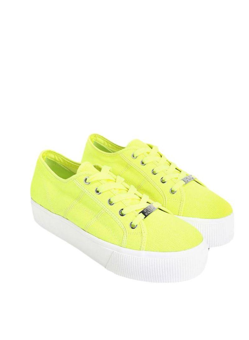 Shop STEVE MADDEN Neon Yellow Emmi
