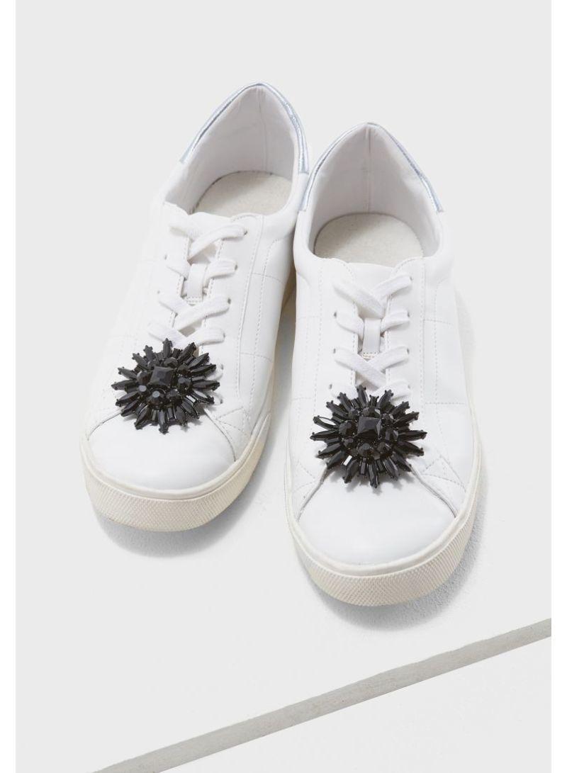 aldo rhinestone sneakers