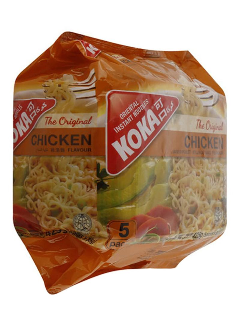 Chicken Flavour Instant Noodles 85g Pack of 5