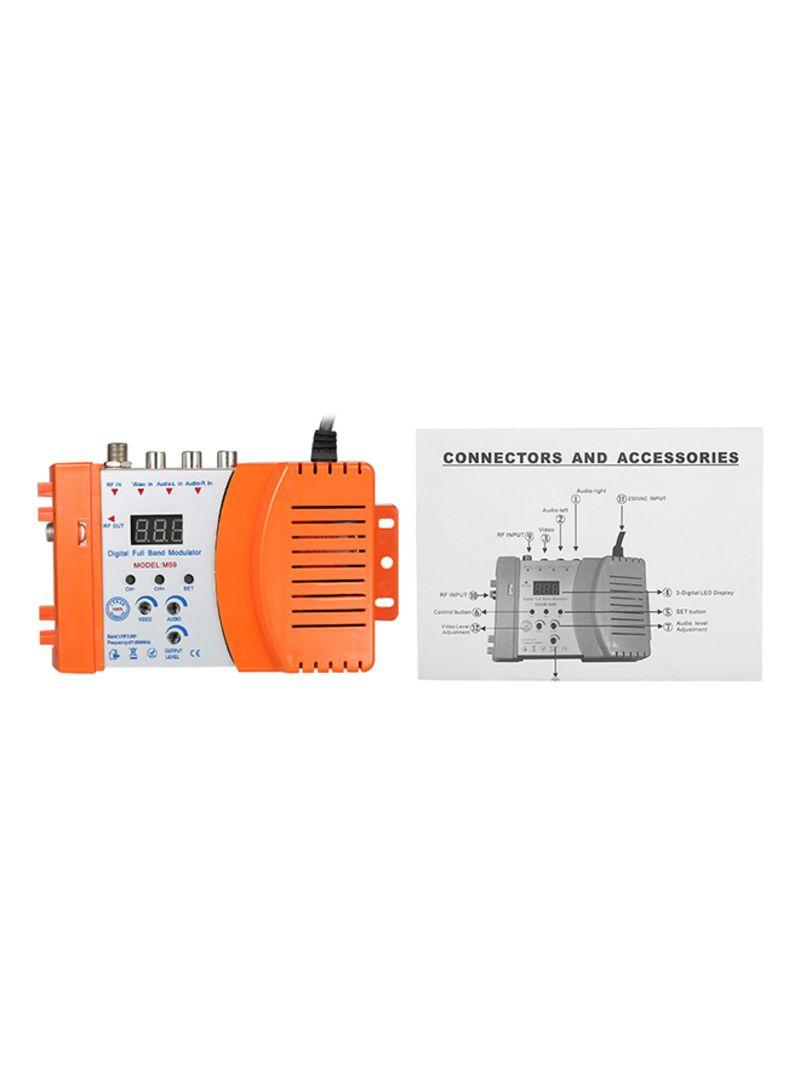 Shop Generic Compact RF Signal Amplifier Orange/White 0 426