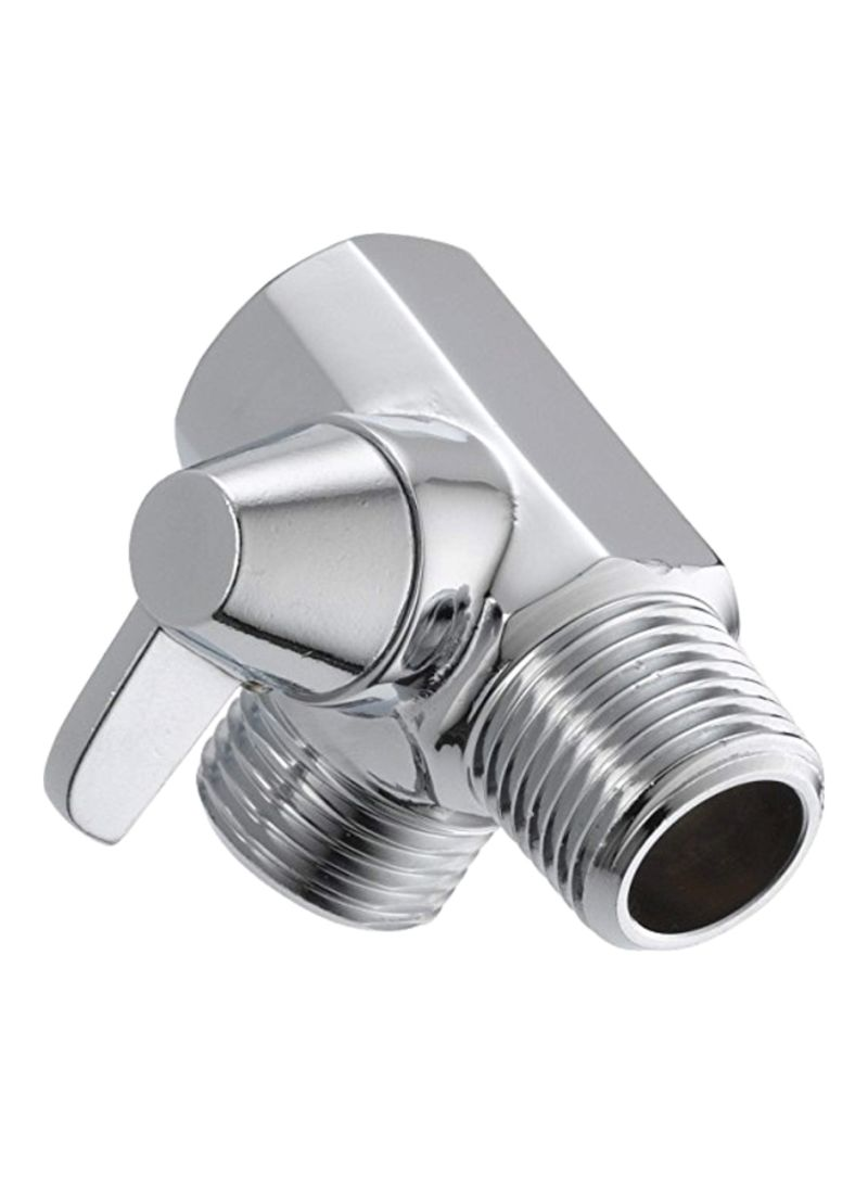 One Size ABS TATAY Shower Elbow Silver