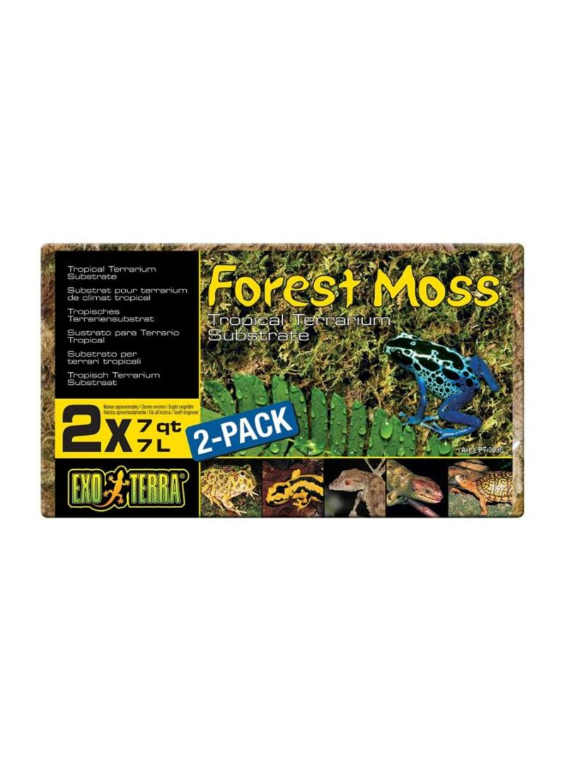 Exo Terra Forest Plume Moss 7 Quart 2 Pack