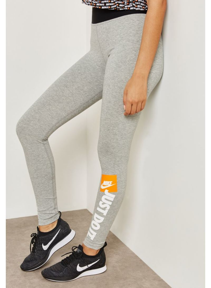 sneakers for cheap in stock for whole family Shop Nike Just Do It Leggings Grey online in Dubai, Abu ...