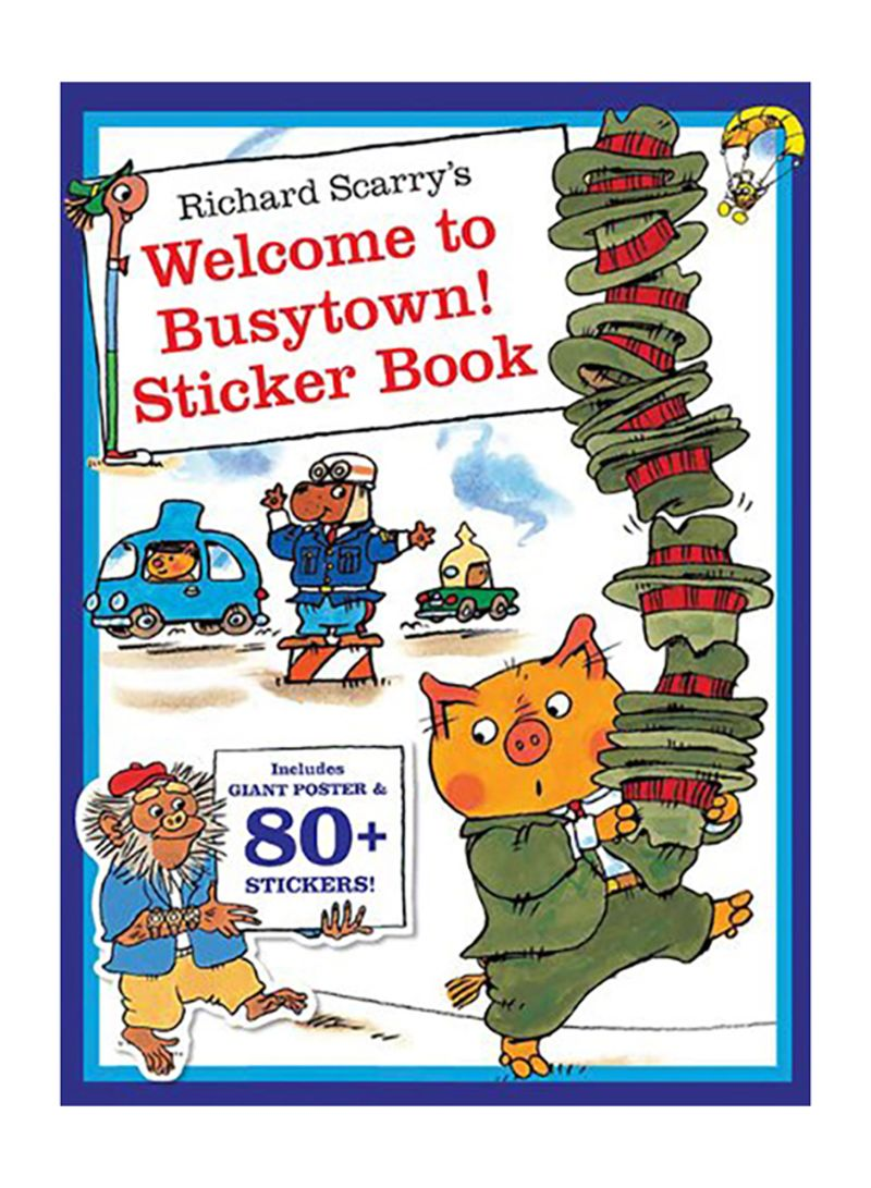 Richard Scarry Coloring Pages - Coloring Home | 1091x800