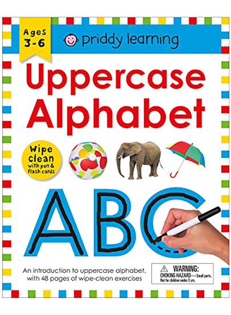 123 Numbers ABC Letters Animals Colours /& Shapes Wipe Clean Flash Cards Age 3-5