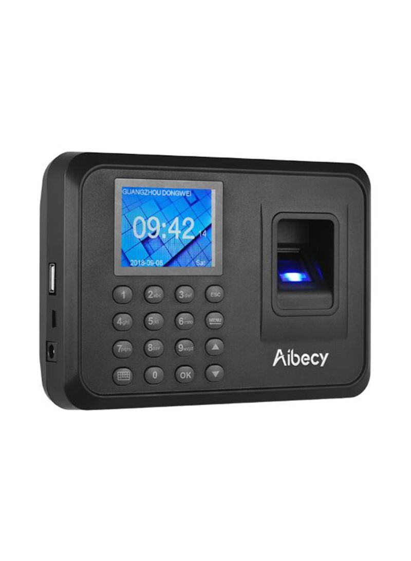 Shop Aibecy Employee Biometric Attendance Machine With LCD