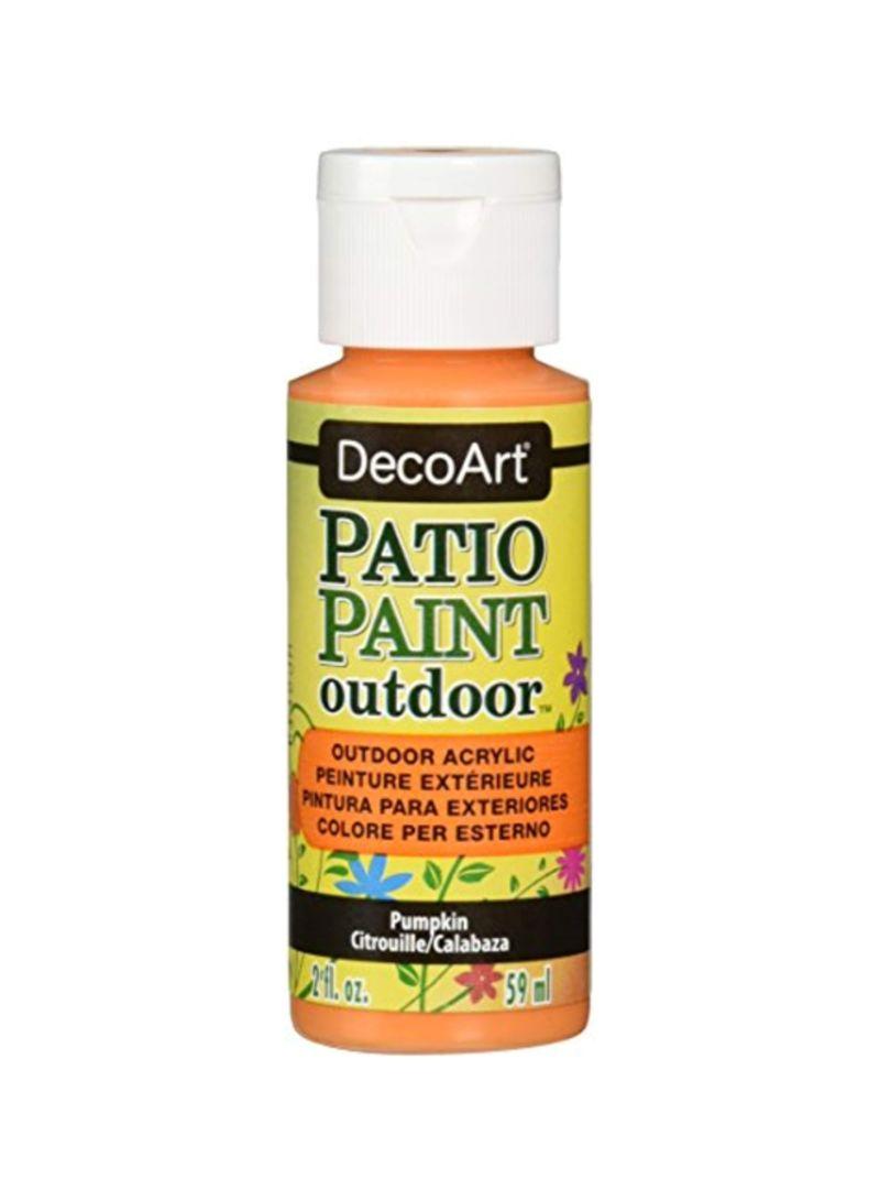 Shop Decoart Patio Acrylic Outdoor Paint Pumpkin Online In
