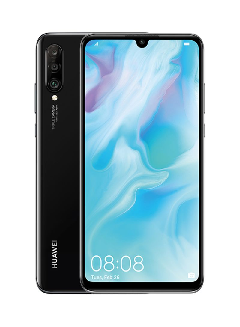 Shop Huawei P30 Lite Dual Sim Midnight Black 128gb 4gb Ram 4g Lte With Sports Bluetooth Online In Dubai Abu Dhabi And All Uae