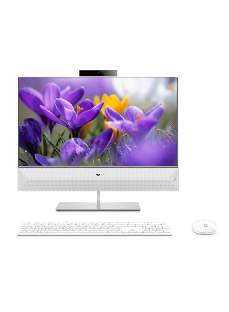 Awe Inspiring Xa0004Ne All In One Desktop With 27 Inch Core I7 Processor 8Gb Ram 1Tb Hdd 2 Gb Nvidia Mx130 Graphic Card White Interior Design Ideas Tzicisoteloinfo
