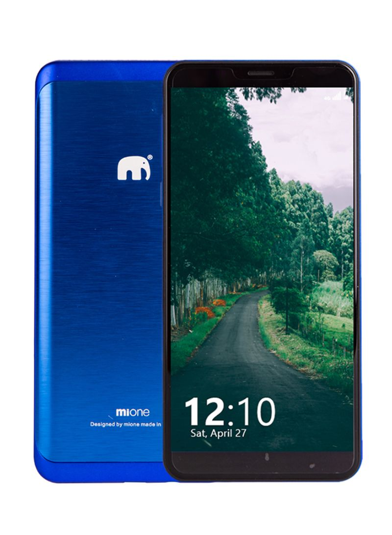 Shop MiOne Mi88 Dual SIM Blue 16GB 4G LTE online in Dubai