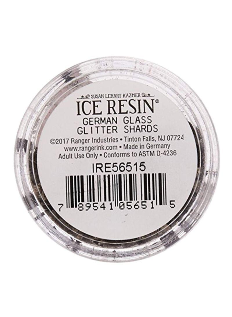 ICE Resin® Onyx Glass Glitter Shards