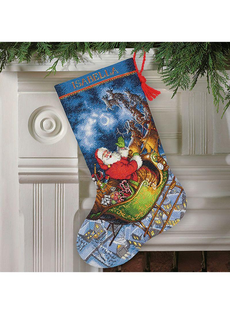 Shop Dimensions Sewing Cross-Stitch Kit Dms Sapozhok Flight Santa  Multicolour online in Dubai, Abu Dhabi and all UAE