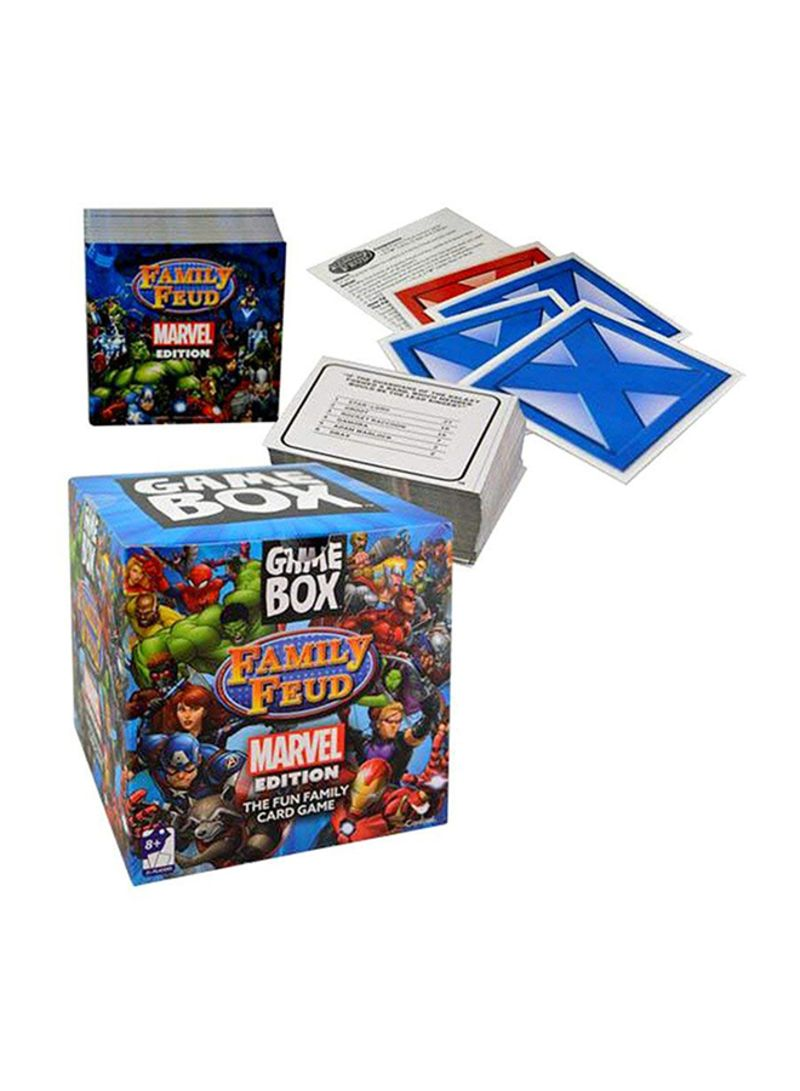 Shop MARVEL Family Feud Game Box online in Dubai, Abu Dhabi