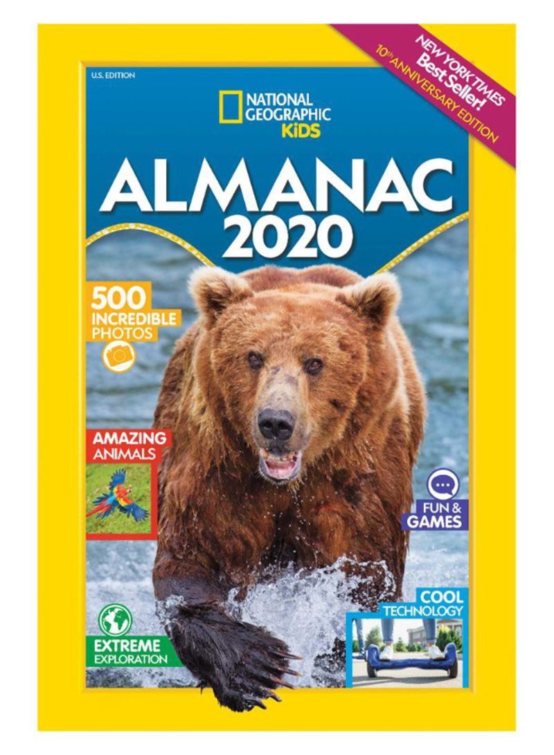 Nyt Best Sellers 2020.Shop National Geographic Kids Almanac 2020 Paperback Online In Dubai Abu Dhabi And All Uae