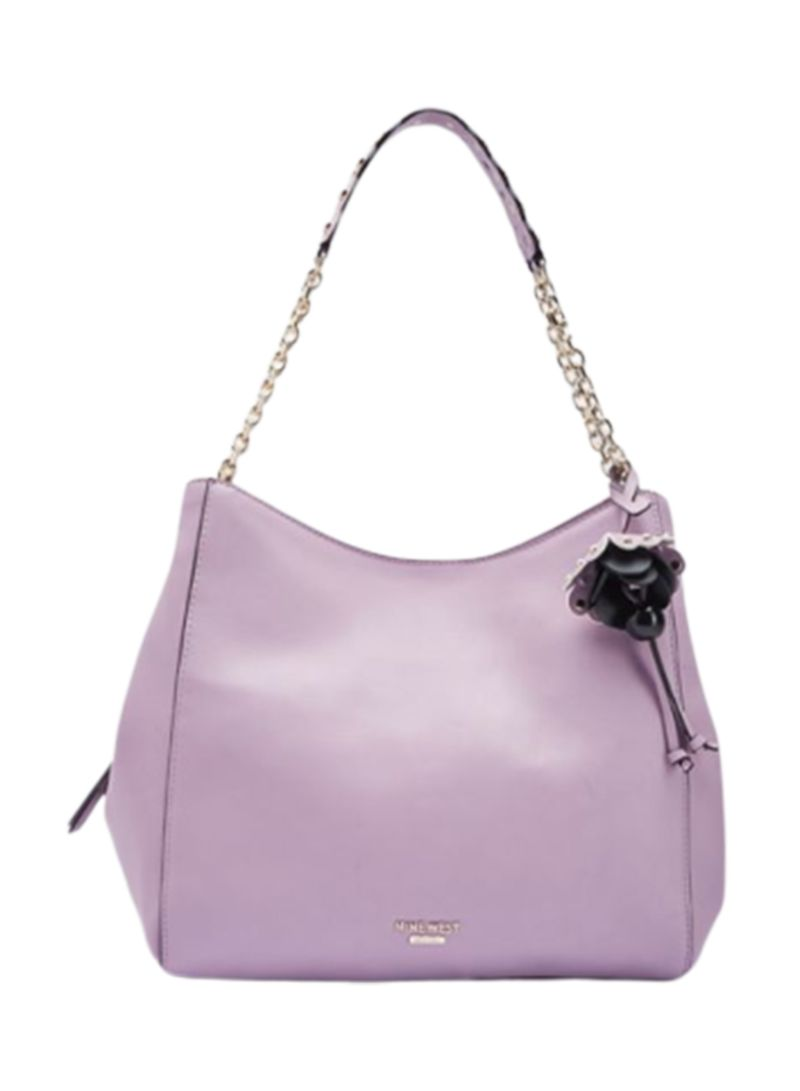 Marea Flowery Charm Detailed Hobo Bag