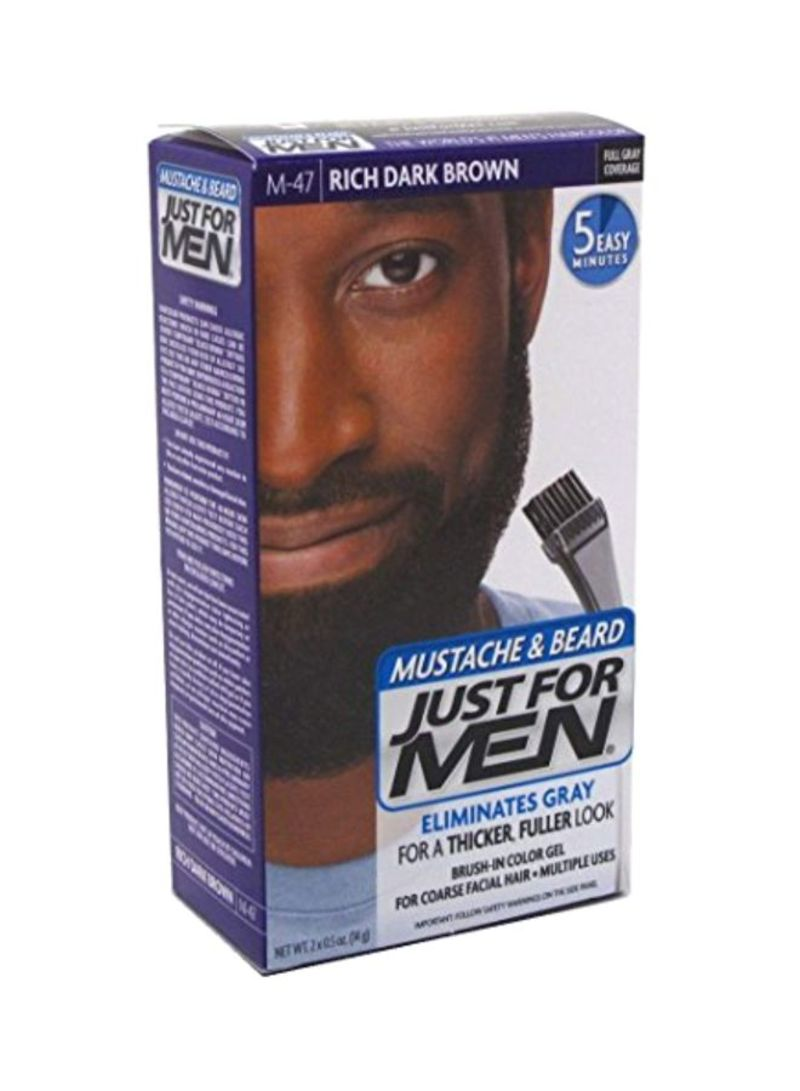 Shop Just For Men Mustache And Beard Brush-In Color Gel M-47 ...