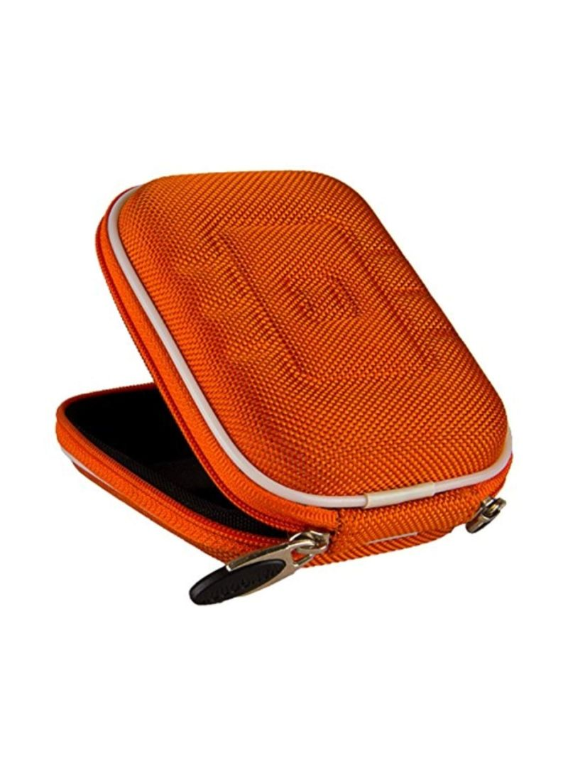 Red VanGoddy Semi Hard Nylon Carrying Case for Canon Powershot SX710 HS 20.3MP Digital Camera and Screen Protector