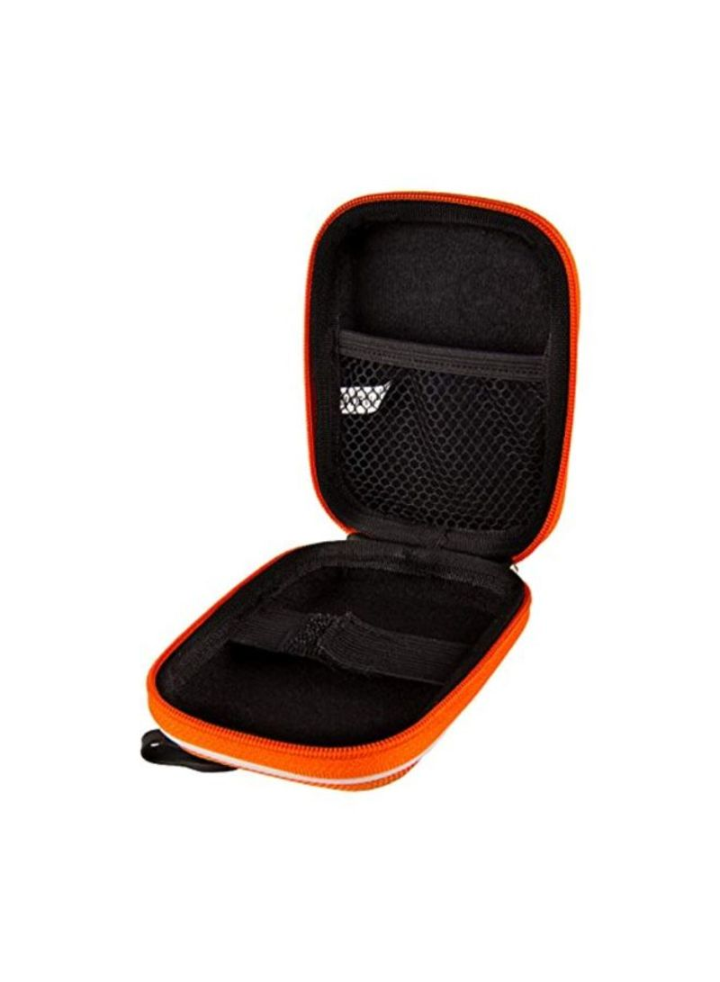 ELPH 340 HS IXUS 150 VanGoddy Semi Hard Nylon Carrying Case for Canon PowerShot ELPH 140 is IXUS 265 HS Digital Cameras and Screen Protector ELPH 135 Orange IXUS 145