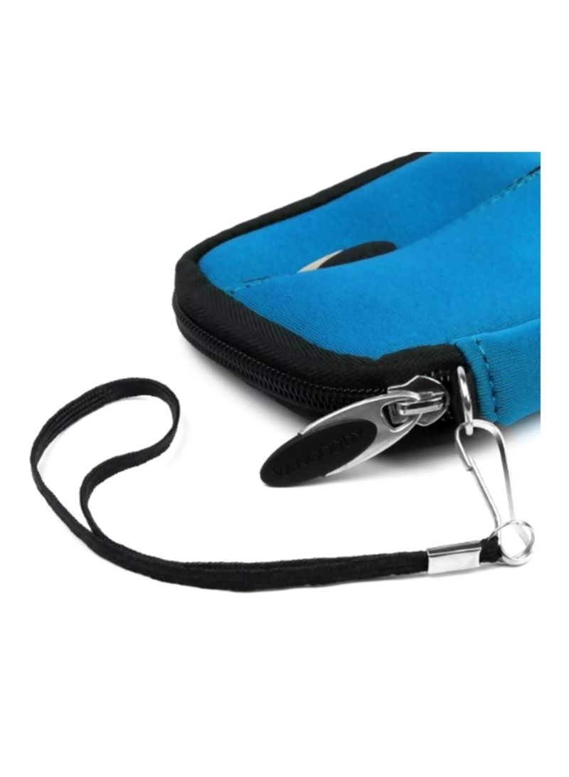 VanGoddy Mini Glove Sleeve Pouch Case for Coleman Duo2 2V9WP Waterproof Digital Cameras and Screen Protector Green