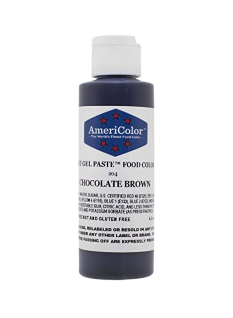 Shop AmeriColor Soft Gel Paste Food Coloring Chocolate Brown ...