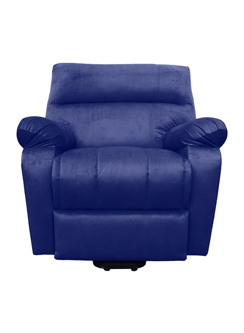 Picture of: Shop Regal In House Electric Recliner Chair With Full Control Remote Blue 40kg Online In Riyadh Jeddah And All Ksa