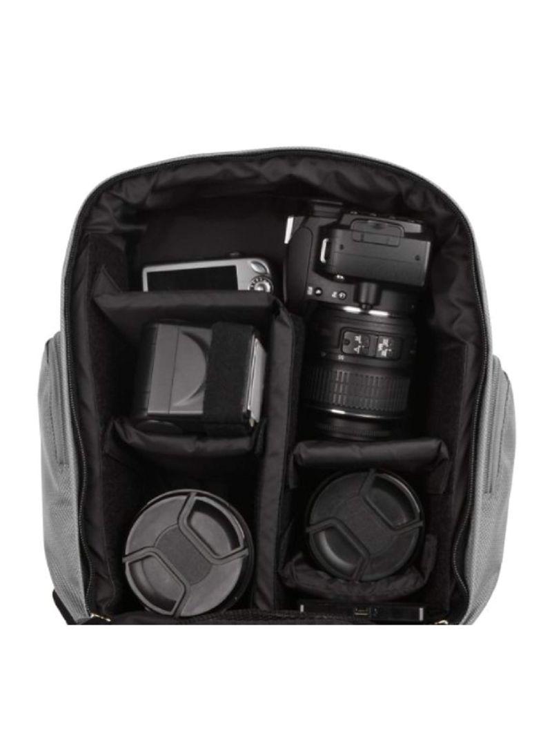 NEX 5 NEX 5R NEX 6 NEX 5N NEX C3 NEX 3N for Sony NEX 3 NEX F3 DSLR Camera and Screen Protector and Mini Tripod NEX 7 NEX 5T Vangoddy Sparta Travel Nylon Backpack Bag Black, Gray