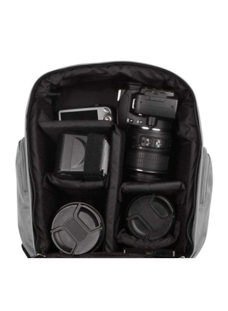 D810A D7200 D810 D7100 Digital SLR Cameras and Mini Tripod and Screen Protector Df D5300 D4s D610 VanGoddy Sparta Travel Backpack for Nikon D5500 D3300 Black and Gray D750