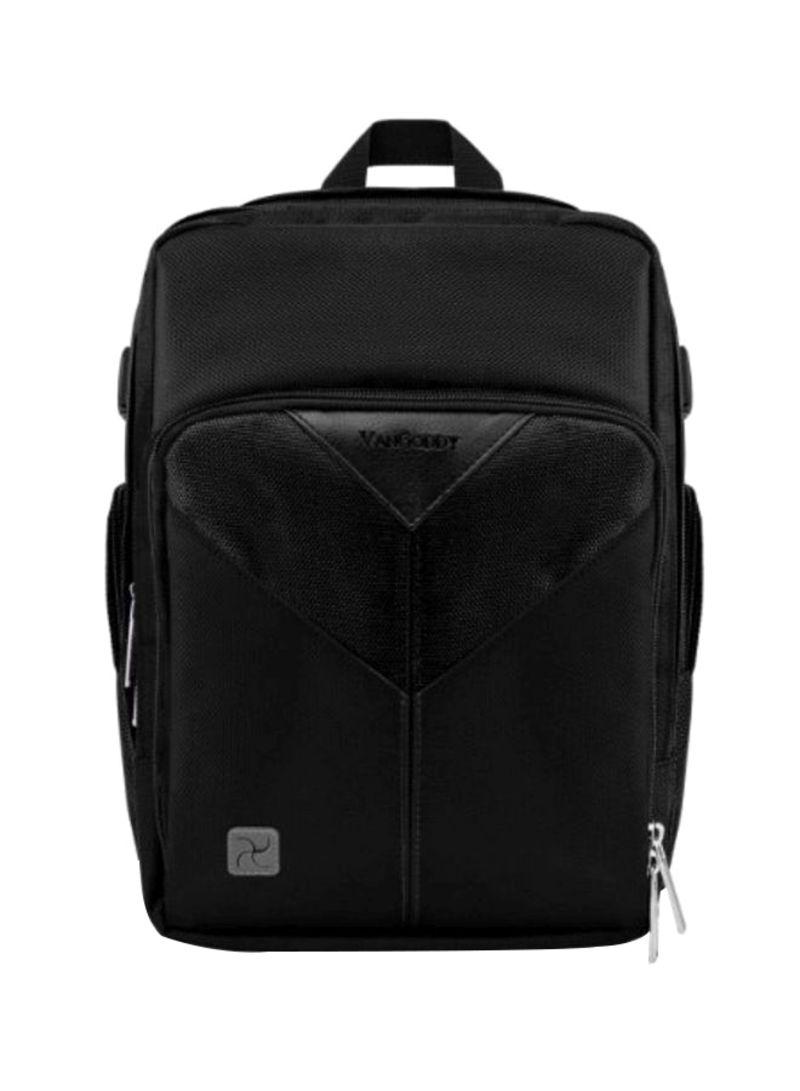 Black and Green VanGoddy Sparta Travel Backpack for Nikon D7200 D810A D700 Digital SLR Cameras and Mini Tripod and Screen Protector D300S D7000 D750 Df D7100 D810 D800E D800 D610 D600