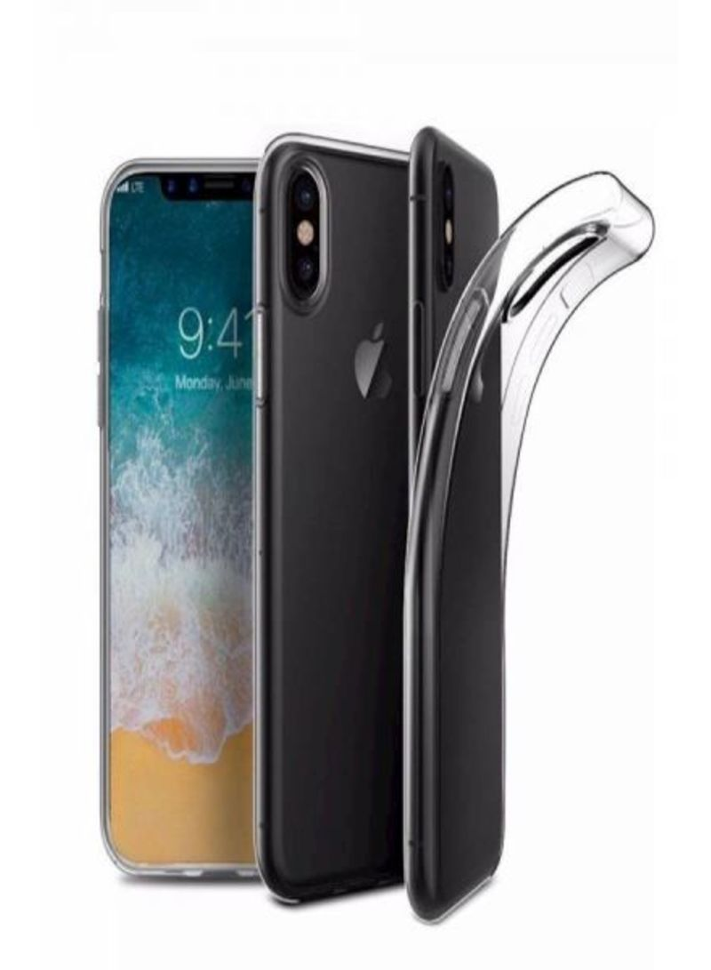 Shop Muzz Protective Case Cover For Apple iPhone X/XS Clear online in  Dubai, Abu Dhabi and all UAE