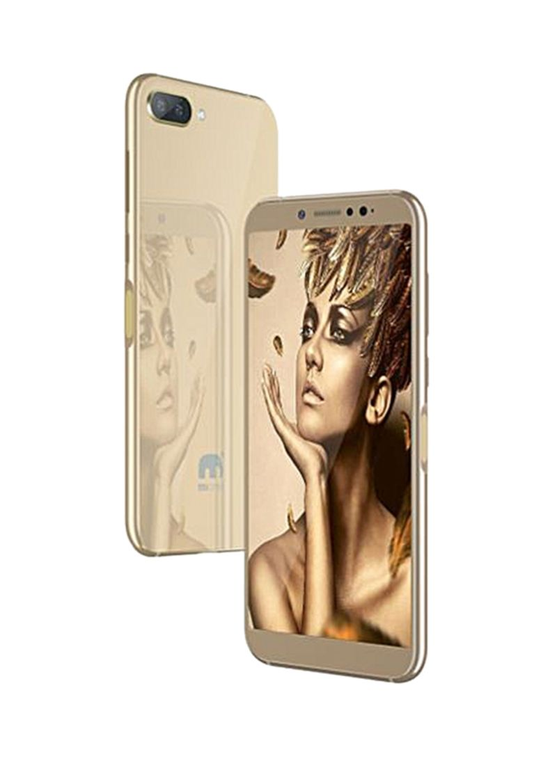 Shop MiOne Mione 10 Dual SIM Gold 16GB 4G LTE online in Riyadh, Jeddah and  all KSA