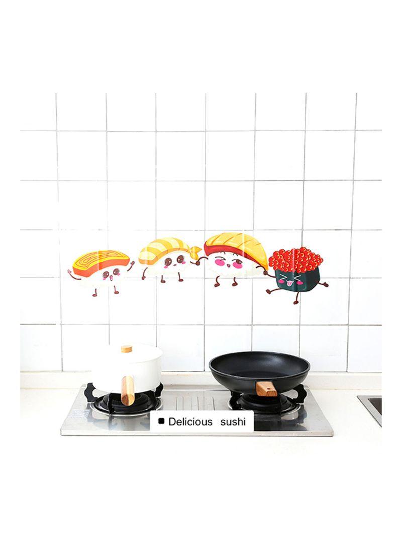 Shop Generic Anti Oil Transparent Kitchen Decor Wall Stickers