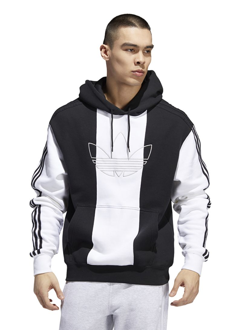 comprare popolare Più votati amazon Shop adidas Originals Off Court Trefoil Bold 3 Stripes Hoodie ...