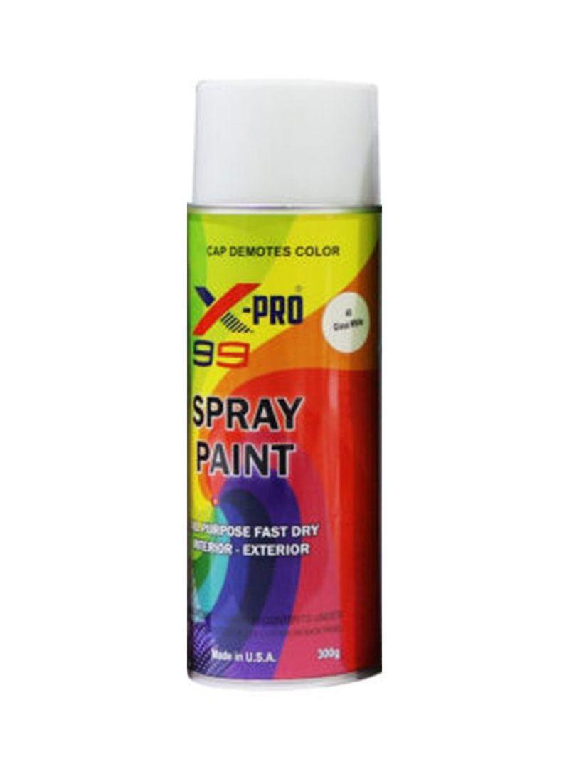 تسوق X 99 وspray Paint Gloss White أونلاين في الإمارات