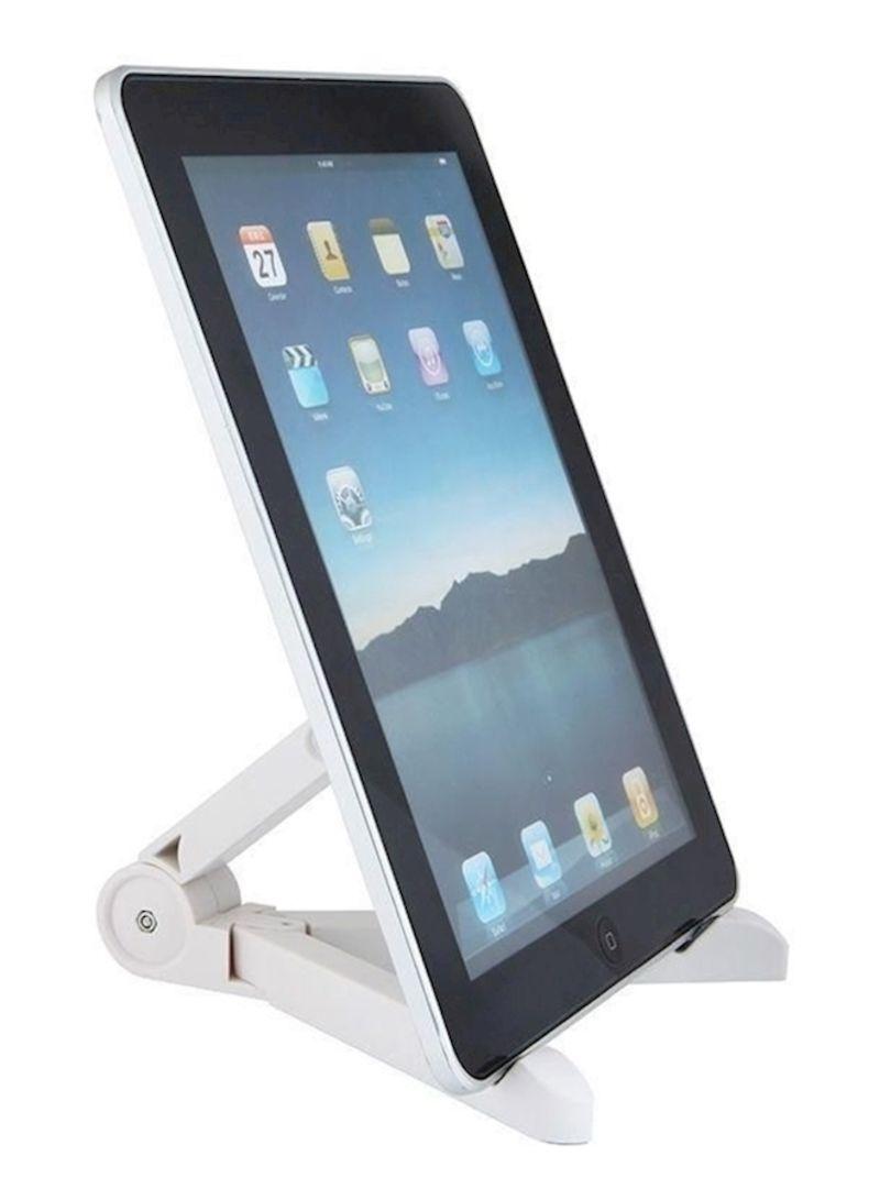 Shop Generic Portable Holder For Apple iPad Mini/Kindle 10-Inch White  online in Dubai, Abu Dhabi and all UAE
