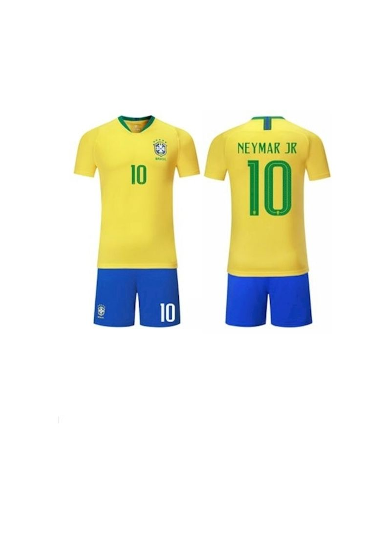 official photos 476a3 2bf36 Shop Generic FIFA Russia World Cup 2018 Brazil Neymar Jersey Set L online  in Dubai, Abu Dhabi and all UAE