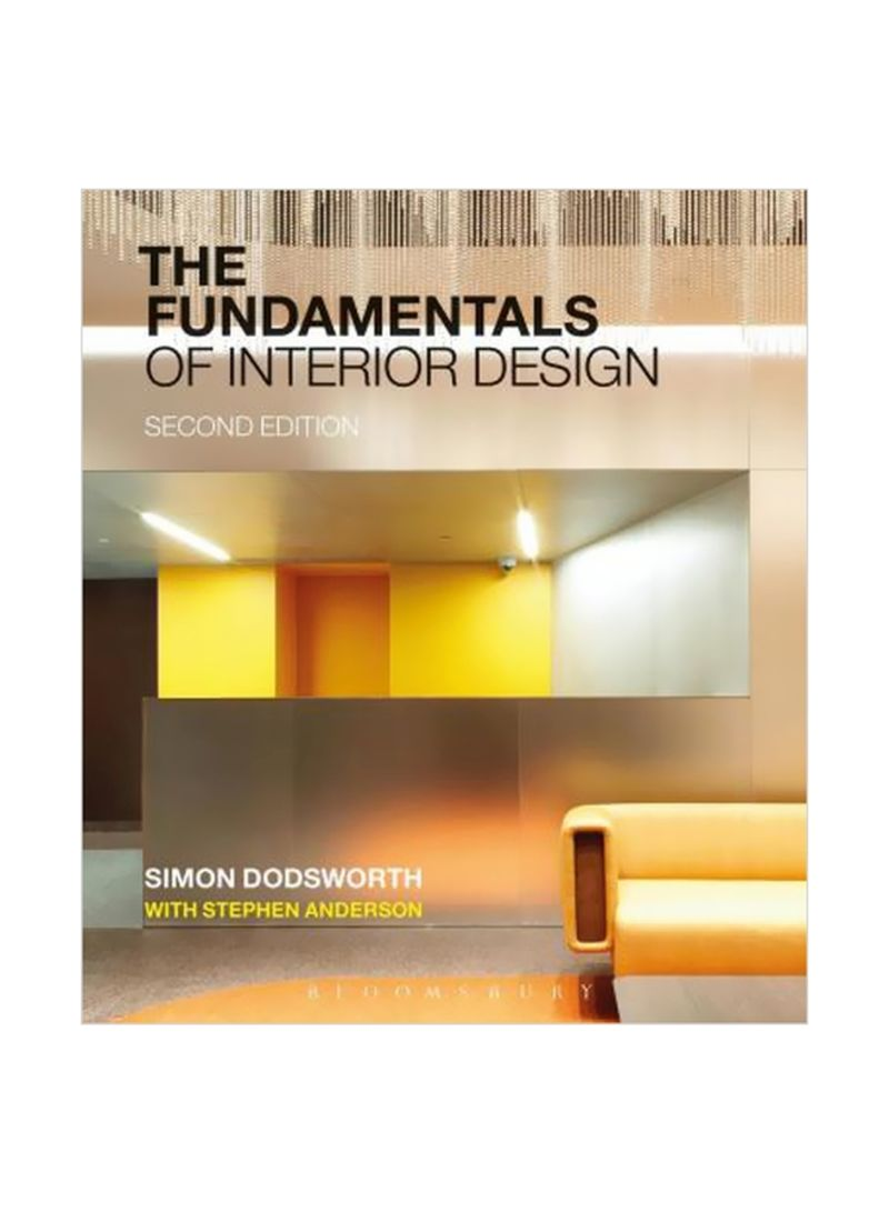 Shop The Fundamentals Of Interior Design Paperback Online In Dubai Abu Dhabi And All Uae