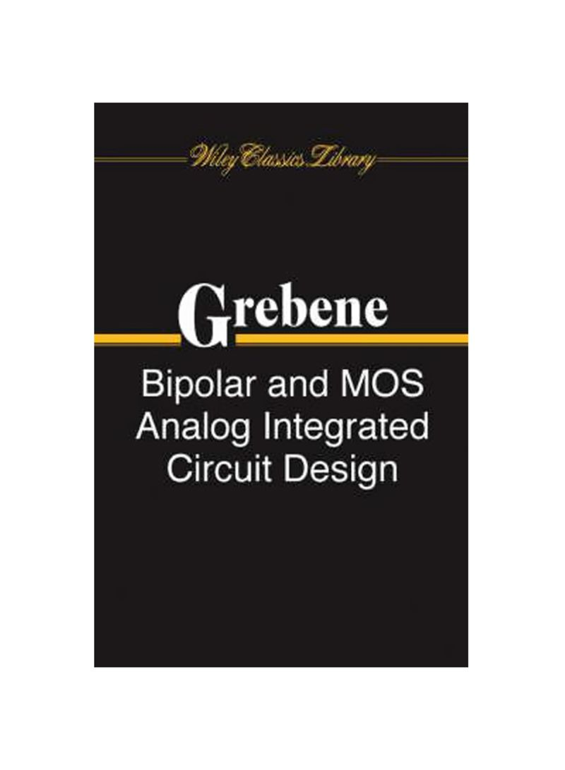 Shop Bipolar and MOS Analog Integrated Circuit Design